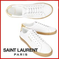 ◆Saint Laurent◆19FW White Gold Andy Sneakers◆正規品◆