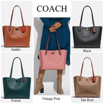 COACH*Willow Tote*大人気のシンプル・トートバッグ♪