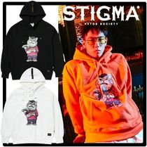 ★送料・関税込★STIGMA★CATSGANG HEAVY SWEAT HOODI.E★