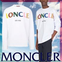 MONCLER ▼関税込み【正規品】人気 1952 コットン 長袖 Tシャツ