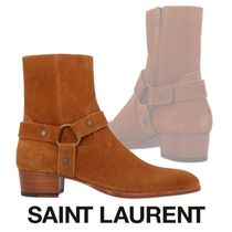 VIP価格!【SAINT LAURENT】「Wyatt harness」アンクルブーツ