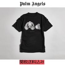 PALM ANGELS KILL THE BEAR TEE-END. EXCLUSIVE Tシャツ