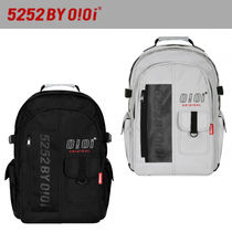 ★20-21FW★5252 by oioi★VERTICAL LOGO MULTI BACKPACK_2色