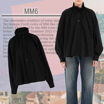 ★MM6★Camicia in popeline con ruches フリル付きかわいい形♪