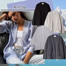 Aritzia Wilfred Free Rourke Sweater Oversized cardigan COLD