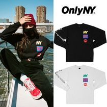 【Only NY】Lineup L/S Tee カットソー BLACK/ASH