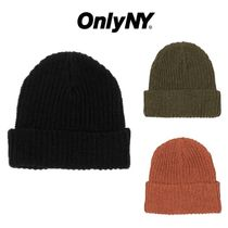 【Only NY】Fisher Man Beanie ビーニー 3色