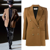 WSL1857 LOOK9 DOUBLE-BREASTED JACKET IN BRUSHED WOOL