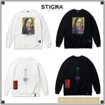 日本未入荷STIGMAのPRAY OVERSIZED HEAVY SWEAT CREWNECK 全2色
