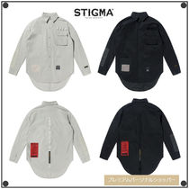 日本未入荷STIGMAのDV TECH OVERSIZED SHIRTS 全2色