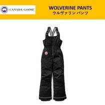 CANADA GOOSE(カナダグース) キッズ用ボトムス ★直営店購入★ カナダグース Youth Wolverine Snow Pants