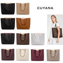 CUYANA ★ 日本未入荷♪ Classic Structured Leather Tote