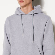 """""""sandro homme"""" Hoodie Sweatshirt With Logo Embroidery Gray"""