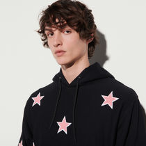 """""""sandro homme"""" Hoodie With Patch Black"""