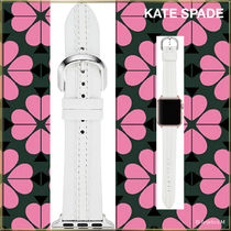 ★APPLE WATCH★KATE SPADE SCALLOP WHITE LEATHER 38/40MM