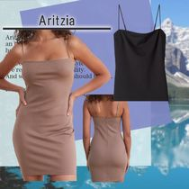 Aritzia Heatwave Dress Minimalist bodycon mini dress