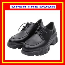 [OPEN THE DOOR]   sole oxford shoes /追跡付