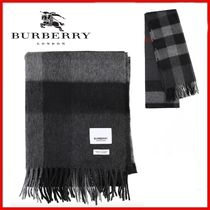 ◆Burberry◆Check Cashmere Scarf マフラー◆正規品◆