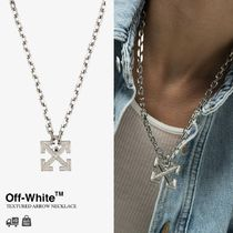 OFF-WHITE | TEXTURED ARROW NECKLACE アローネックレス