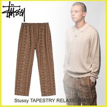 20HOLIDAY SEASON◆Stussy TAPESTRY RELAXED PANT
