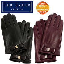 【TED BAKER】 Frannca レザー 手袋 グローブ★リボン