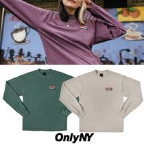 ONLY NY(オンリーニューヨーク) Tシャツ・カットソー 【関税・送料込み】ONLY NY☆Subway ロゴ Tシャツ 長袖