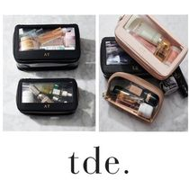 The Daily Edited(ザ デイリー エディテッド) キーケース・キーリング ☆世界に1つ☆【The Daily Edited】Clear Travel case set