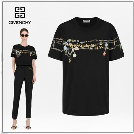 GIVENCHY Tシャツ・カットソー GIVENCHY◆直営買付 GIVENCHY チャーム マスキュリン Tシャツ