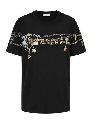 GIVENCHY Tシャツ・カットソー GIVENCHY◆直営買付 GIVENCHY チャーム マスキュリン Tシャツ(2)