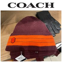 【COACH】☆超人気☆4920☆Striped Beanie With Coach Patch