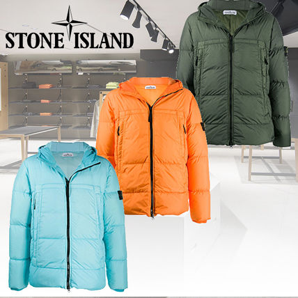 2020AW【STONE ISLAND】GARMENT DYED CRINKLE REPS NY DOWN 3色