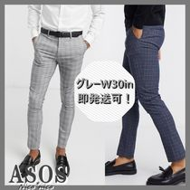 【ASOS】New Look チェックスキニーパンツ *送料/関税込み*