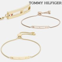 "【TOMMY HILFIGER】""CASUAL CORE""フラッグロゴ☆ブレスレット2色"
