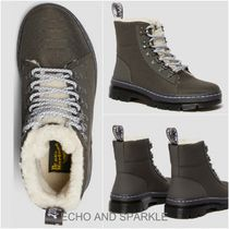 【Dr.Martens】COMBS FUR LINED WARMWAIR BOOTS 英国発 GUNMETAL