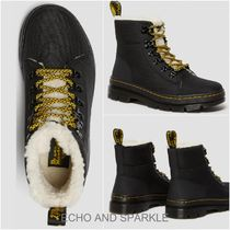 【Dr.Martens】COMBS FUR LINED WARMWAIR BOOTS 英国発 BLACK
