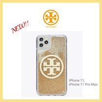 【Tory Burch】 PERRY BOMBE GLITTER PHONE CASE FOR IPHONE 11