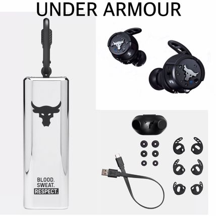 UNDER ARMOUR  テックアクセサリー ★新作★ Under Armour Project Rock Trueワイヤレス イヤホン