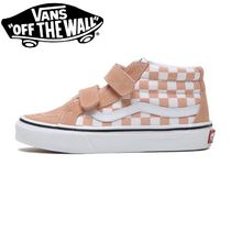 ☆VANS キッズ SK8-MID REISSUE V(CHK)SALMON 国内発送 正規品!