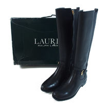 Ralph Lauren::ロングブーツBARNEHURST BOOT:8B[RESALE]