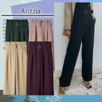 Aritzia ハイウェストパンツ Pant Belted high-waisted pants