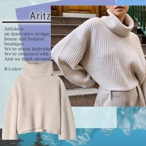 Aritzia セーター Guell Sweater Oversized, cropped turtleneck