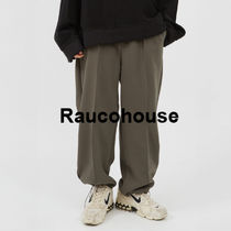 RAUCOHOUSE Waistbanding pintuck pants