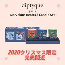 Diptyque☆Marvelous Beasts 3 Candle Set☆DHL送料込