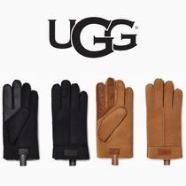 UGG【国内発送・関税込】Sheepskin Glove With Tasman Pull