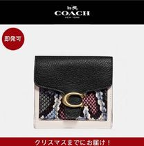 Coach★関税込/日本未発売★Tabby Small Wallet With Snakeskin