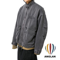 ANGLAN Pigment Military Short Jumper