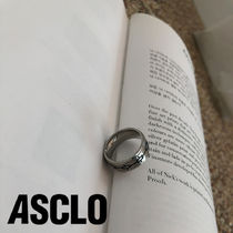 ASCLO Connected Square Ring (Silver)