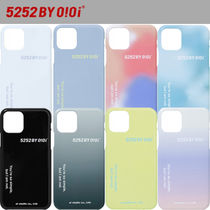 ★20-21FW新作★5252 by oioi★5252 LETTERING PHONE CASE_8色