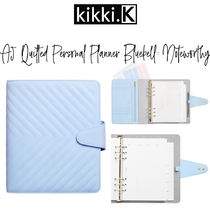 【kikki.K】A5 QUILTED PERSONAL PLANNER BLUEBELL: NOTEWORTHY