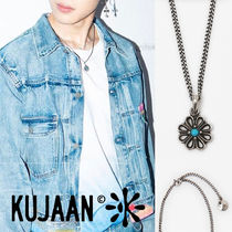 KUJAAN(クジャーン) ネックレス・チョーカー [KUJAAN] Heart Flower Necklace★BTS ジミン着用★人気
